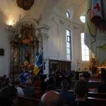 Fahnenweihe Kirche